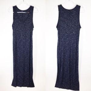 Gap Navy Blue Knit Maxi Dress